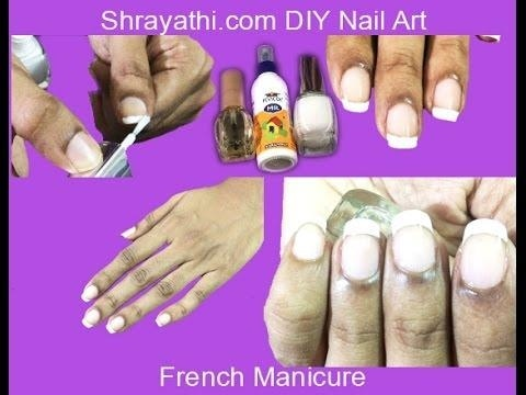 #diy  #nailart #diynailart #frenchmanicure
