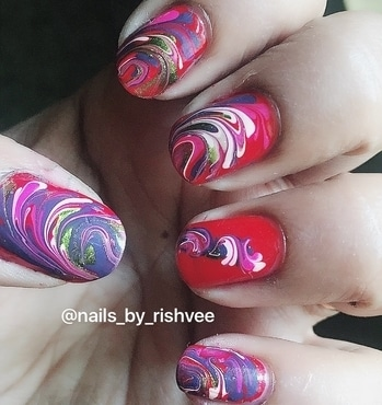 Nailart of the day!! #nailart #nailartoftheday #nailitdaily  Please like,comment and follow @nails_by_rishvee on Instagram.