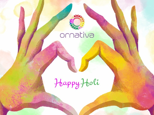 The festival of colors is here! It's time to immerse yourself and your loved ones in a world of colors!  Have an amazing and safe #holi