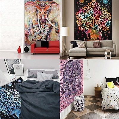 Explore the widest collection of #homedecor online at handicrunch. Buy from various home decoration products such as wall tapestry, mandala beach throw, cushion covers, wall curtains, door hanging, wall hanging, bed covers, quilts, etc. Visit here - https://www.handicrunch.com/ #bedcovers #tapestry #mandala #hippie #elephanttapestry #printedwalltapestry