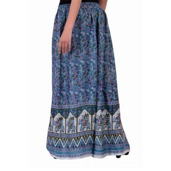 Ladies elegant wide leg elephant print palazzo. Women fashion wear's  #printed #palazzo #desing #printpalazzo #fashion #women #printedwear #designingwears  View More Products: https://www.handicrunch.com/en/product-CWP7001/ladies-elegant-wide-leg-elephant-print-palazzo.html
