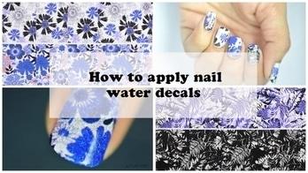 How to apply nail water decals |  BORN PRETTY Flower Leaf Nail Art Water Decals Review  #nailart#nailartdesigns#nailartwow#nailartaddicts#nailartpromote#nailartblogger#nailartlove#nailartclub#nail colour and art#nailartideas#nailartist#nailartonmymind#nailartjunkie#nail art #nailartindia #nails#nails2inspire#nailfashion#nailaddict#naillover#nailoholic#nail-addict#nailswithrhinestones#nailswag#nailpolish#nailcolor