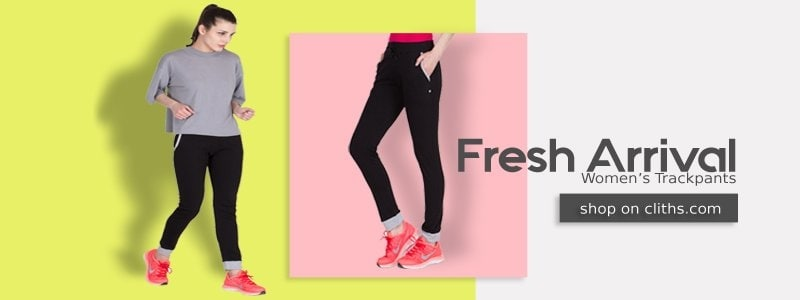 Buy #American-Elm Track pants & Tracksuits at low prices in India on Cliths. Check out latest offers on a wide range of Jockey #trackpants & #tracksuit with Free Shipping all over India. Visit us: https://www.cliths.com/women/women-bottoms/w-trackpants
