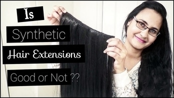 #hair #hairextensions #synthetichairextensions #youtuber #hairyoutuber #bangaloreyoutuber #beautifullyouh