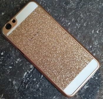 FINDX Hard Back Glitter Cover for OPPO NEO 5 - Gold  Exclusively Designed For Your Beloved Device. Easy To Fit And Remove. Easy to handle & perfectly finished. Protects your device from bumps. Easy Access to All Ports & Button.  http://amzn.to/2nU62Dq