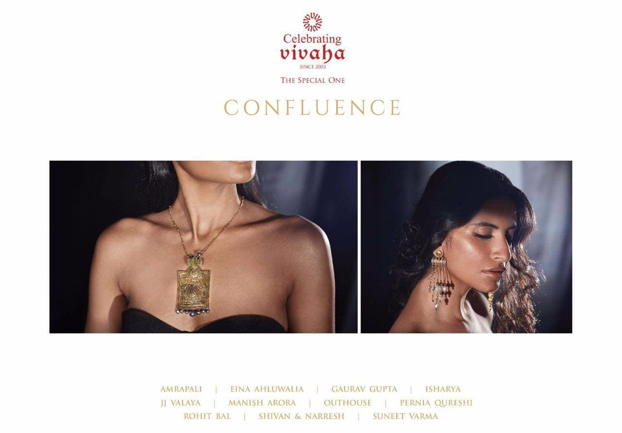 Jewelry as an art form, conceptualized by leading Indian Designers. Visit the #CONFLUENCE booth at Celebrating Vivaha from 1st to 3rd April at Hotel The Ashok, New Delhi. Stall Number: 80  For Queries Visit:http://www.vivahaexb.com/upcoming-wedding-exhibition-in-delhi/  Contact @ 09811923456    #SwarovskixConfluence #SwarovskiCrystals #Jewelry #Bridal #Exhibition #FashionJewelley #Beautiful #Beauty #Design #Wedding #WeddingExhibition #JewelleryStyle #DesignerJewellery