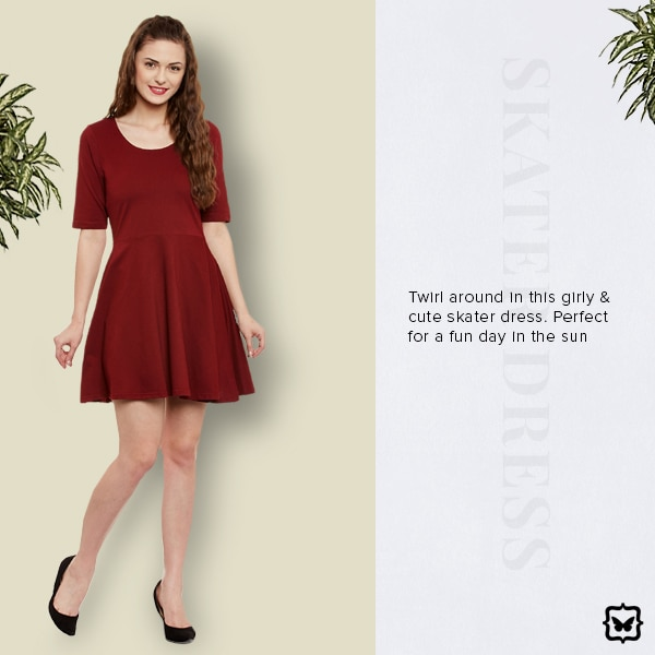 Twirl around in this girls & cute skater dress. Perfect for a fun day in the sun!  STYLE TIP: Pair this with stilettos and a matching box clutch for a fancy night out!  Shop on http://bit.ly/2nmImK4  #soroposo #onlineshopping #shopping #colour #shoppingtips #fashion #fashiontips #photooftheday #trendy #musthave #nowtrending #stylish #blogger #love #follow #fashionblogger #styleblogger #awesome #ootd #potd #ruffletop #summerstyle #summer #summer16.