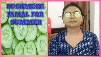 BEST CUCUMBER FACIAL AT HOME FOR SUMMER #summer #facial #skincareroutine