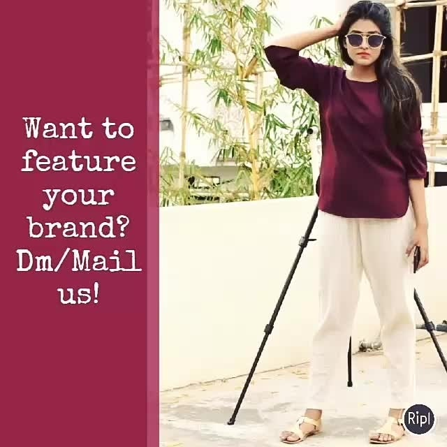 So we are here to feature your brand in the best manner. Let the world know about your work and business 💝  You can either Dm or Mail us at: Officialnidhi26@gmail.com  .  .  .  #fashionblogger #fashion #fashionblog #beauty #beautyblogger #like #love #jaipurblogger #jaipurbloggers #ny #india #look #ny #newyork #dubai #trendalert #professional #photography #photoshoot #brand #promotion #videolover #video #instagramvideo #message #trendalert #streetstylelook #lookbook #magazine #treasuremuse 😊 #roposolive #roposogal #ropo-love #roposo #roposoblogger #roposofashion #roposofood #soroposo #roposostickers