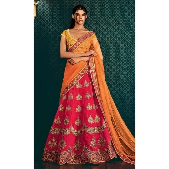 Add these stunning styles from our Collection of #PartyWear #Lehengas and let your style do the talking #FreeShipping in #India  Shop Now--> http://www.ishimaya.com/lehengas/all-collections/wedding-party-lengha-saree-collection.html?utm_source=roposo&utm_medium=refferal&utm_campaign=smo