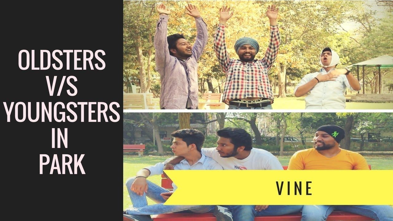 Mr. Funjabi Films | Oldsters V/S Youngsters In Park  This video is about what #old or elder people do in park and what #youngsters do.  Please watch this #video If you #like then give it a thumbs up, have any suggestions then #comment down below, #share this video with your #friends and #relatives or #tag them. #MrFunjabiFilms   #Subscribe to Mr. Funjabi Films on #YouTube If you haven't and press the #bell icon  #swag #springsummer #throwback #roposome #newdp #indianblogger #ropo-love #indianyoutuber #fun #roposo #menonroposo #myfirstpost #soroposo #loveyourself #style #streetstyle #delhiguy