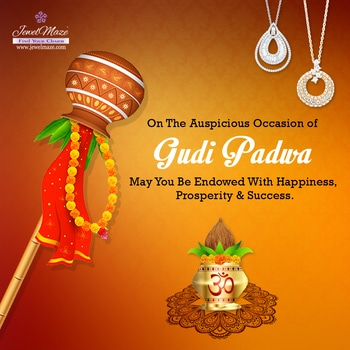 🌟Team JewelMaze Wishing You A Very Happy Gudi Padwa And Happy New Year 🌟 #gudipadwa #wishing #newyear #JewelMaze