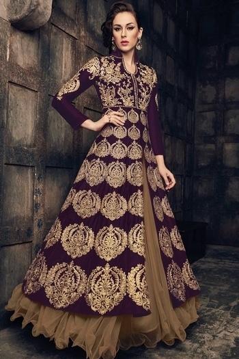 Purple jacket lehenga from Samyakk!   www.samyakk.com   #roposolove #ootd #saree #lehenga #sherwani #kurti #trendalert #trend2017 #latestfashion #samyakk #indianfashion #ethnicwear #salwar #indianfashion #trendalert #fashionista #fashionblogger #indianfashionblogger  #runwayfashion #celebrityfashion #style #outfitidea #bangalore #fashionista #fashionblogger #indianfashionblogger #runwayfashion #celebrityfashion #NewCollection #LakmeFashionWeek  #Fashion #WomensFashion #WomensWear #IndianBride #IndianWeddings #Designer