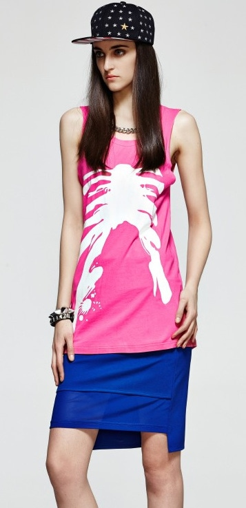 This pink Top Is Perfect For A Night Out! Shop on  ; https://goo.gl/BtKUEp