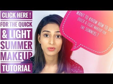 Quick & Light Summer Makeup Tutorial
