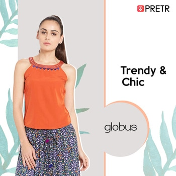 This summer, set your 'Style Quotient' just right with these amazing trendy tops by your favourite brands. Shop now with Pretr & avail express delivery. Click here> http://bit.ly/2n6mgwN #orange #summerlove #top #tunics #summerfashion #beattheheat #fashionforward #globus #pretrapp #samedaydelivery #womensfashion #shopnow#cool #new-style #summerstyle #roposolove #mystylemantra #swag #roposostyle