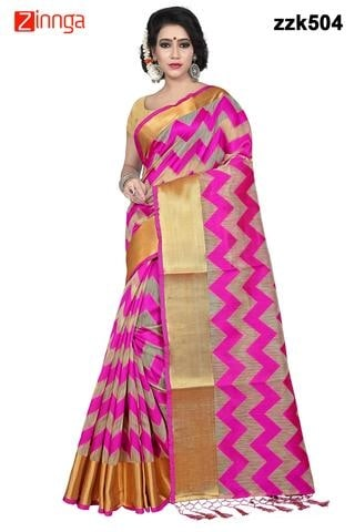Women's Beautiful Tusser Silk   Saree With Blouse Available Zinnga.com Free shipping & cash on delivery available. Contact What's app no- 9246261661 Cilck Link>>  https://zinnga.com/collections/buy-sarees-online..