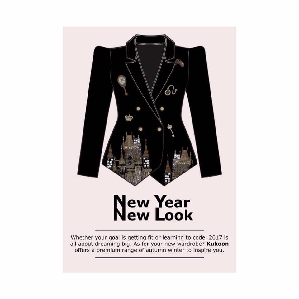 This New Year #wepledge to fill in your wardrobes with the most iconic styles ever. #welcoming2017 . . . . . #kukoonthelabel #newyear #newlook #wardrobestylist #highfashion #iconic #glamglow #instafashion #indiamodern #shopmycloset #kukoon #capes #seasonsgreetings #wonderwoman #2017 #shoplocal #instagram