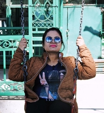 It don't mean a thing. If it ain't got that swing. Post:159 #outdoor  #photography  #enjoyingeverymoment   #happieness  Location: Kasauli #nikon #nikonphotography #dslrphotography #swing #cute #kasauli #green #sunglasses #swag #poser #fashion #pinklipstick #indianwomen #women-fashion #pretty