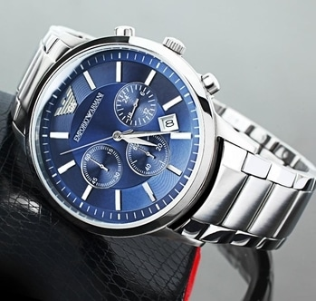 # Emporio Armani # For Men # 7A # Model-Ar2448 # Feature-Working chronograph with full silver metal chain & blue dial Available @ Rs 2150+Ship whatsaap or call #7000817081   or to get DAILY UPDATES - PRESS THIS LINK https://chat.whatsapp.com/invite/KeafZgU7qCYKhq5DucSeTd  -To buy any product you just take {screenshot} of product and send it through whatsaap at (#7000817081) then we will confirm your order and deliver it to your address.  Only pre payment through paytm or netbanking or cash deposit. 6-7 delivery days. Payment through paytm or netbanking.  No returns.no exchange.no replace. only high class products.  Also follow  @jainzstore_watches @jainzstore_raipur @jainzstore_amway @jainzstore­_nagpur  @jainzstore  To buy any product save our whatsaap 7000817081 #bestreplica #chhattisgarh #bestfirstcopy  #instagramshopinindia #firstcopyinindia #firstcopyshoes #firstcopywatch #bestfirstcopywatches #highqualitywatches #firstcopy #bombay #7aquality #bestfirstcopy #delhi #mumbai #kolkata #chennai #fashion #swag #agra #banglore #kolkata #pune #surat # #bestonlineshop #onlineshoppingindia #ludhiyana #raipur #rajnandgaon #nagpur   @instagram @aliaabhatt @deepikapadukone @priyankachopra @sonamkapoor @jacquelinef143 @shaidkapoor @sunnyleone @akshaykumar @beingsalmankhan @hrithikroshan @hasleyindia @virat.kohli @shraddhakapoor @narendramodi @selenagomez @taylorswift @arianagrande @beyonce @kimkardashianView GroupFree shipping