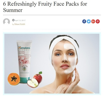 Summer Face Packs  https://myfashgram.com/beauty/6-refreshingly-fruity-face-packs-for-summer/  #facepacks #facemasks #summerskincare #skincaretips #summer-style