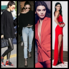 Talking about my favorite fashion icons, Kendall Jenner **undoubtedly** comes on top of that list. Unlik her sisters and most of the other girls these days, she doesn't run for a curvaceous body. She's a flawless personality for me and I totally adore her style. @rock_n_shop #thevisionaries #rocknshop