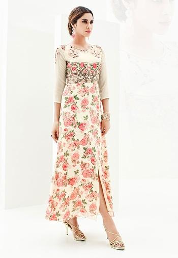 Cream Color Georgette Print Designer Kurti - https://goo.gl/92Ny4w  https://www.folkfashions.com/salwar-kameez-dress-material/kurtis-online.html  #myfavoutfit #fashionista #fashionblog #fashiondiaries #mystylemantra #look #women-fashion #trendy #designer #onlineshopping #casual #style #style #shopping #springsummer #kurti  #kurtilove #kurtisforwomen #kurtistyles #kurtishopping #kurtisonline #kurtisonlineshopping #kurtisale #kurtisale #kurti_tunics #kurtifabric