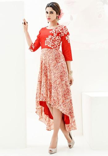 Red Color Rayon Print With Slub Silk Designer Kurti - https://goo.gl/92Ny4w  https://www.folkfashions.com/salwar-kameez-dress-material/kurtis-online.html  #myfavoutfit #fashionista #fashionblog #fashiondiaries #mystylemantra #look #women-fashion #trendy #designer #onlineshopping #casual #style #style #shopping #springsummer #kurti  #kurtilove #kurtisforwomen #kurtistyles #kurtishopping #kurtisonline #kurtisonlineshopping #kurtisale #kurtisale #kurti_tunics #kurtifabric