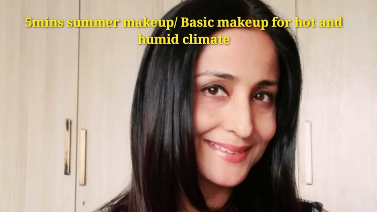 5mins Summery look/ basic daily makeup for hot/humid climate Dear friends, please subscribe to my YouTube channel LataaINC