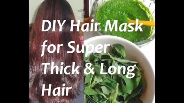DIY hair pack for thicker hair  #Haircare #Doitathome #Methi #Diy