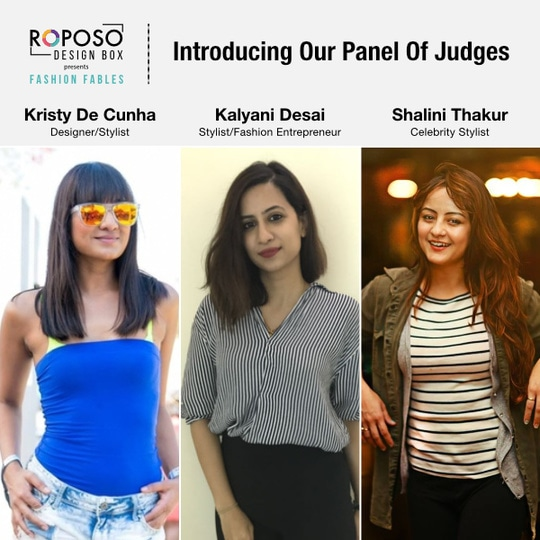 Have you posted yet? Get a chance to win internship with one of these awesome celeb styists &designers. @kristydecunha @shalinithakur7  @kalyanidesai   Register & Post with #fashionfables