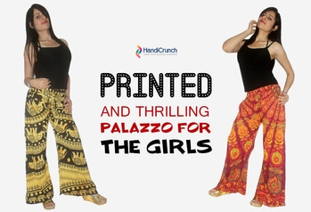 Shop online sale for the summer's most stylish #printedpalazzopants, #designerpalazzos, basic #blackpalazzopants for all age groups at Handicrunch. Flat 30% off, Use coupon code SUMMER 30.  ORDER NOW @ https://goo.gl/7yNDCa  #onlinepalazzos #palazzopantforgirls #fashion #handicrunch #sale #onlineshopping #buyonlinepalazzo