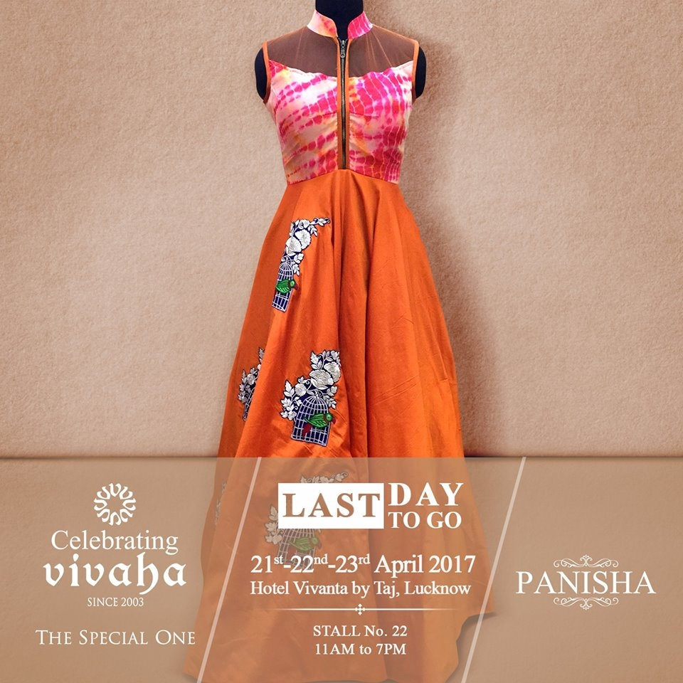 Catch The Latest #Jewellery and #Clothing Trends This #WeddingSeason.  Celebrating Vivaha is Showcasing Panisha Latest Collection, Exclusively at Hotel Vivanta by Taj, Lucknow on 21st, 22nd & 23rd April 2017.  Come and see your favorite designers showcasing their latest collections exclusively at Celebrating Vivaha's Asia's biggest and most luxurious #WeddingExhibition in Lucknow.  For Queries Visit at : www.vivahaexb.com or Contact: 09811923456  #Clothes #Jewelry #DiamondJewellery #GoldJewellery #Bridal #Exhibition #BridalDresses #WeddingExpo #DesignerJewellery #DesingerDresses #WeddingDresses #Lucknow