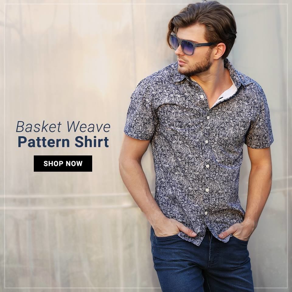 This lightweight printed shirt is the perfect hangover cure to get you over the weekend hump and ready for the weekday.  Shop this style @ https://goo.gl/hyG5yj  #shopping #fashion #online #menswear #newarrivals