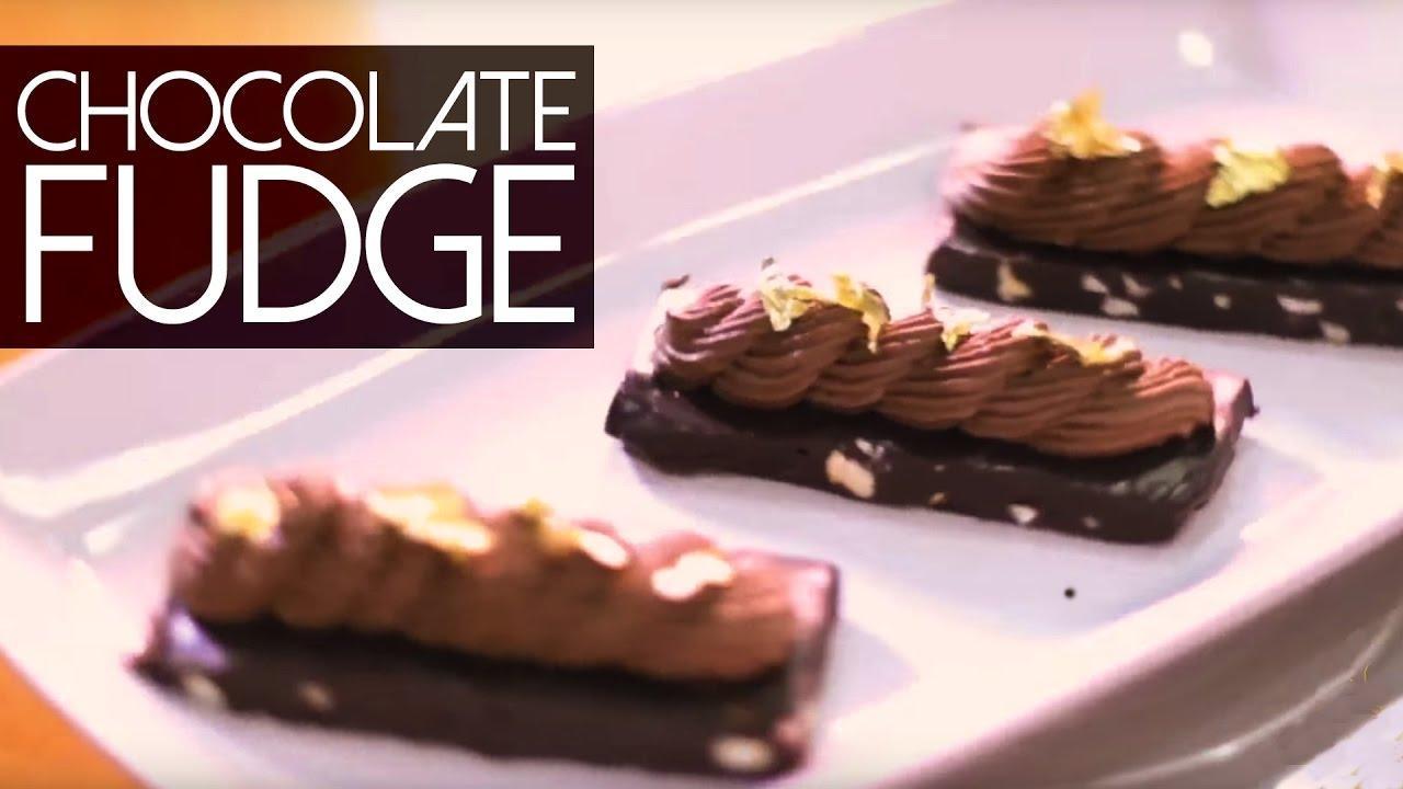 It's so easy, told you so... Bringing Lonavala right into your home, Delicious & Popular Dark Chocolate Fudge with Meghna's Dessert Twist - Dark Chocolate Mousse. 💋💋💋 Love M. #ChefMeghna #ChocolateFudge #Eggless #Dessert  #desserts