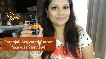 Patanjali Activated Carbon Facial Foam Review   MakeupAddict005