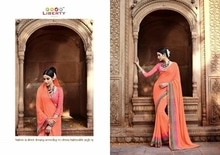 Whats App :- 7567936479  Catalog Name :- LIBERTY AKIRA VOL-4 WHOLESALE PRINTED ETHNIC SAREE  Price Per piece :- 595  Catalog pieces :- 14  Full Catalog Price :- 8330  *****Fabrics Detail*****   Fabrics :- Georgette ***Ready To Dispatch*** Link :- http://www.vaidehifashion.com/Saree/LIBERTY-AKIRA-VOL-4-WHOLESALE-PRINTED-ETHNIC-SAREE