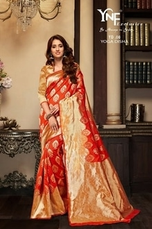 Whats App :- 7567936479  Catalog Name :- YNF YOGA DISHA 6 WHOLESALE COTTON SILK SAREE  Price Per piece :- 1395  Catalog pieces :- 9  Full Catalog Price :- 12555  *****Fabrics Detail*****   Fabrics :- Cotton Silk ***Ready To Dispatch*** Link :- http://www.vaidehifashion.com/Saree/YNF-YOGA-DISHA-6-WHOLESALE-COTTON-SILK-SAREE