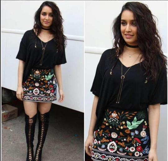 Shraddha Kapoor In A Beautiful Outfit
