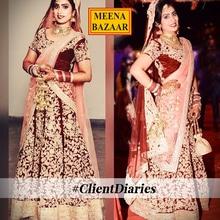 Our #HappyBride Urvashi Sheoran you look the most gorgeous bride. <3 Thanks for sharing your pictures with us. #HappyClients #HappyUs #ClientDiaries :)   #Shoppingtime #Shoppingaddict #MeenaBazaar #officialwear #officialkurti #indianwear #ethnicwear #ethnicday #bridallehenga #occasionwear #designer #designerwear #partywear #delhi #FashionDairies #2017fashiontrends #Stylish #lookbook #fashionblogger #fashionweek #indianfashionblogger #hautecouture #style #inspiration #fashioninspiration