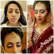 Some girls were just born with glitter in their veins.  In love with this Glitter from @stilacosmetics Magnificent Metal Eyeshadow.  Bride Alka Basnet on her wedding day.  Hairstylist: @neelamgupta09286de5   #bridesdiaries #theindianbride #thedelhibride #bridesofinstagram #dressyourface #wedding #makeup #makeuponfleek #supritibatra #usa #canada #gurgaon #gurgaontimes #lashonfleek @hudabeauty @katvond @vera_mona @beccacosmetics @innersecretschandigarh @wedmegood @weddingsutra @beautyscoopindia @weddfairs @makeupartists_worldwide @stilacosmetics #stillametalliceyeshadows