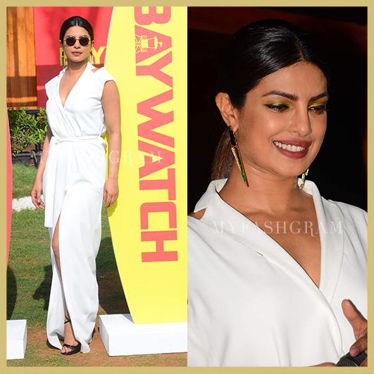 Priyanka Chopra   https://myfashgram.com/celebrity/priyanka-chopra-undergoes-3-incredible-outfit-changes-in-a-single-day/  #priyankachopra #baywatch #womensfashion #summerstyle