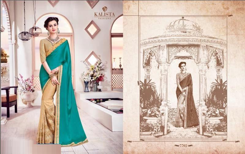Whats App :- 7567936479  Catalog Name :- KALISTA TRENDS WHOLESALE PARTY-WEAR ETHNIC SAREE  Price Per piece :- 1299  Catalog pieces :- 14  Full Catalog Price :- 18186  *****Fabrics Detail*****   Fabrics :- Mix Designer Fabrics ***Ready To Dispatch*** Link :- http://www.vaidehifashion.com/Saree/KALISTA-TRENDS-WHOLESALE-PARTY-WEAR-ETHNIC-SAREE