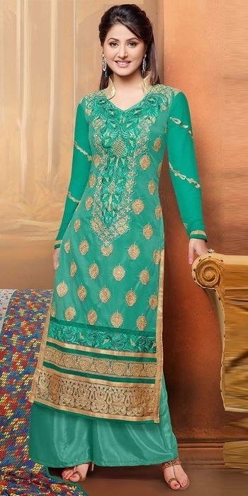 Amazing Green Georgette Salwar Suit.  Whatsapp 8097 909 000   https://www.nallucollection.com/salwar-kameez/georgette-salwar-suits.html?utm_source=Social&utm_medium=Roposo&utm_campaign=Salwar%20Kameez    #Nallucollection #style #women-fashion #ethnic #beauty #fashion #fashionista  #summer #followme #shopping #mystylemantra #onlineshopping #fun #fashion #onlinefashion #online