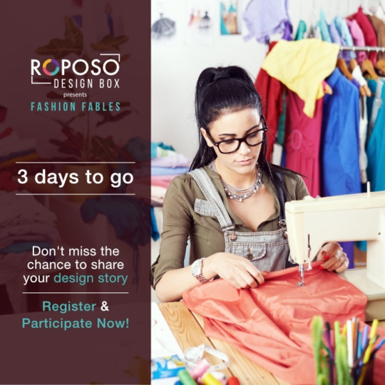 Last 3 days to win participate & win the internship!   #roposodesignbox #fashionfables #contestalert