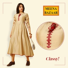 Elegance at its best! With the perfect color combo of Beige and Red. <3  #MeenaBazaar #casualwear #indianwear #ethnicwear #officialwear #officialkurti #ethnicday #occasionwear #designerwear #ootd #delhi #FashionDairies #2017fashiontrends #StreetStyle #Stylish #lookbook #fashionblogger #fashionweek #fashionista #indianfashionblogger #couturefashionweek #couture #hautecouture #style #inspiration #fashioninspiration