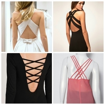 This on-going trend is a must in every girl's wardrobe. A sexy party wear black gown or a cute summer white dress or a casual wear top paired with skinny jeans, a criss-cross back adds elegance to your outfit.  #casual #lbd  #summerdress #backless #summertop #hashtaggameon  #assignment4 #bloggeracademy #roposo #sexylook