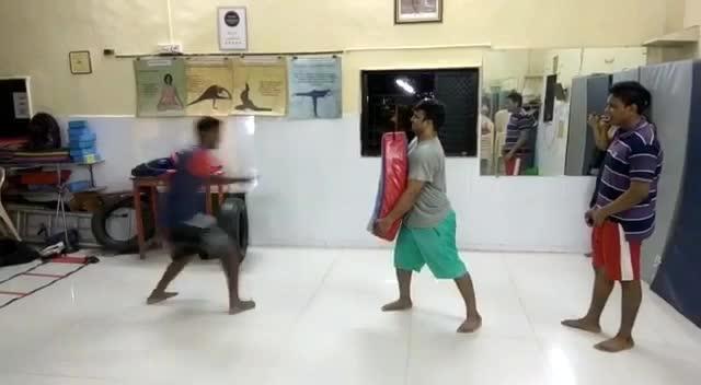 That which does not kill us makes us stronger.  #KickBoxing #Taekwondo #BackKick #PracticeTime #FullPowerMode #UpcomingFight #InternationalSelctionTaekwondo #predominatekickboxingacademy