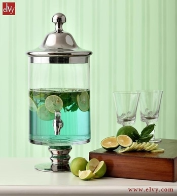Be a notch higher with this refreshing Lemonade Dispenser made in fine quality glass and freshen up your summers in style! MRP - ₹5,495/- #SHOPNOW at www.elvy.com #luxury #stylish #exclusive #retail #onlineshopping #homedecor #highquality