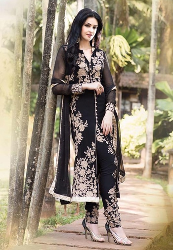 Black Color Georgette Designer Salwar Kameez - Shop Now at https://goo.gl/rYS930  #chilling #casual #summerstyle #mystylemantra #women-fashion #fashionfables #new-style #dress #shopping #fashion #indian #followme #happy #cool #styles #cream #color #georgette #designer-wear #designerfashion #designer #salwarkameez #salwarsuitonline #salwar #salwar-kameez #salwarkameezsuit #salwarkameezonline #salwarkameezshopping #salwarkameezdesigns #georgettesuit #georgette-summer-collection #georgette_salwar_kameez #georgettefabric #georgette #georgette suits #georgettedresses #georgettefashion #georgettedress #fashion #beauty #partywearsuits #onlineshopping